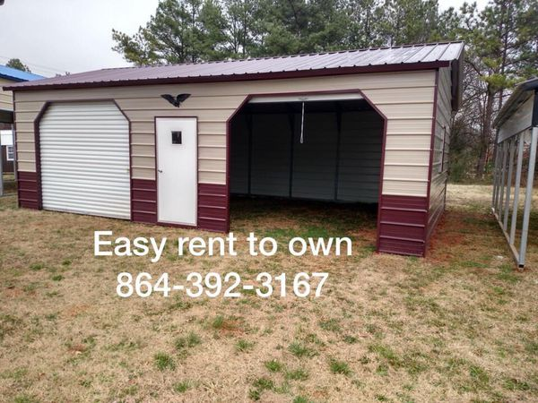 Custom Built Garages Rent To Own Call For