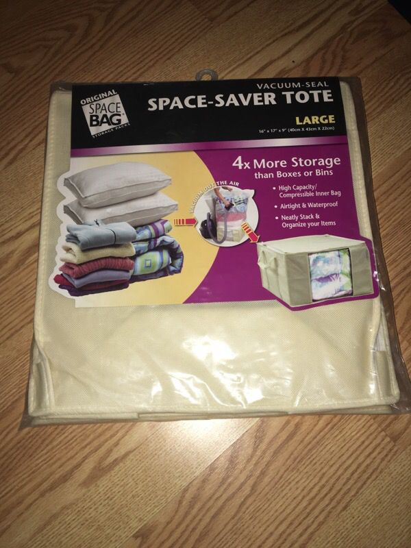 SPACE SAVER TOTE (Large)