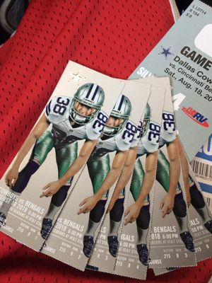 New and Used Tickets for Sale in Dallas, TX - OfferUp