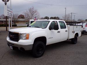 2009 gmc sierra 3500 heavy duty 4X4 gas service body for Sale in Manassas, VA