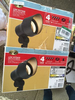 "new ""Hampton bay"" low voltage 20w flood light 2 pcs for Sale in Chicago, IL"