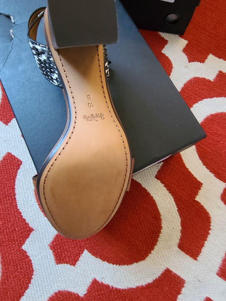 Original Coach womens shoes size 10