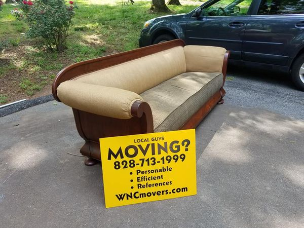 Easley Storage Has A Broyhill Couch And An Antique Couch