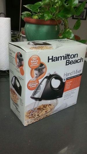 HAMILTON BEACH HAND MIXER NEW for Sale in Alexandria, VA