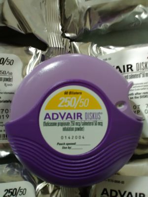 Asthma Inhalers Advair Diskus 250 50 For Sale In Philadelphia Pa Offerup