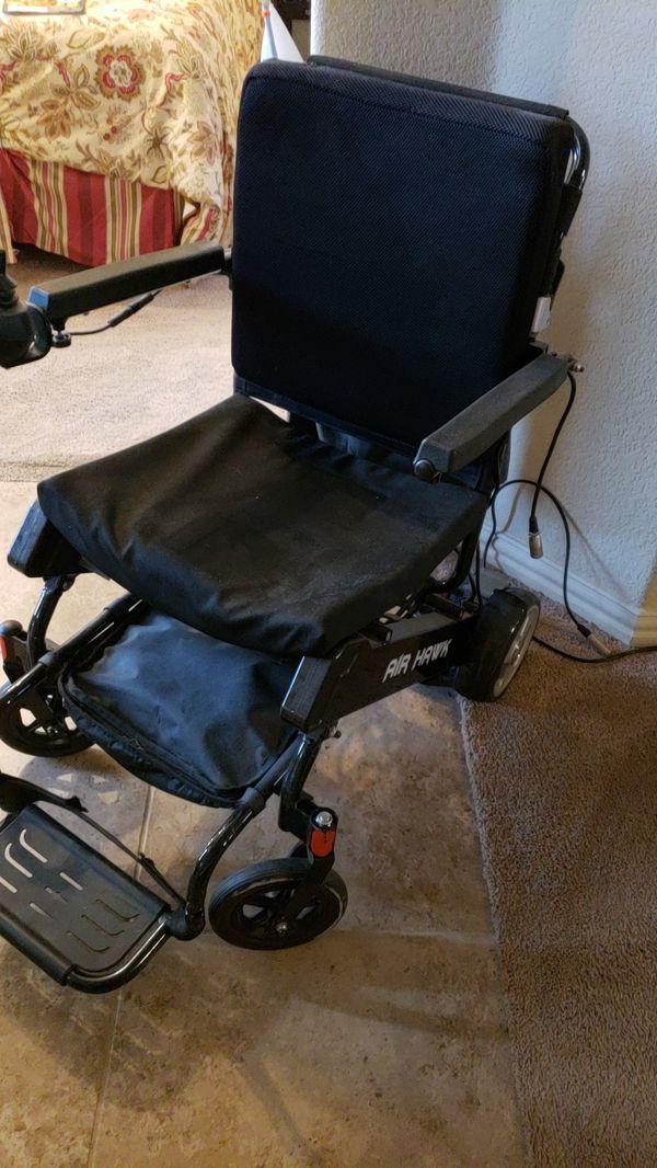Air Hawk power wheelchair for Sale in Grand Prairie, TX - OfferUp