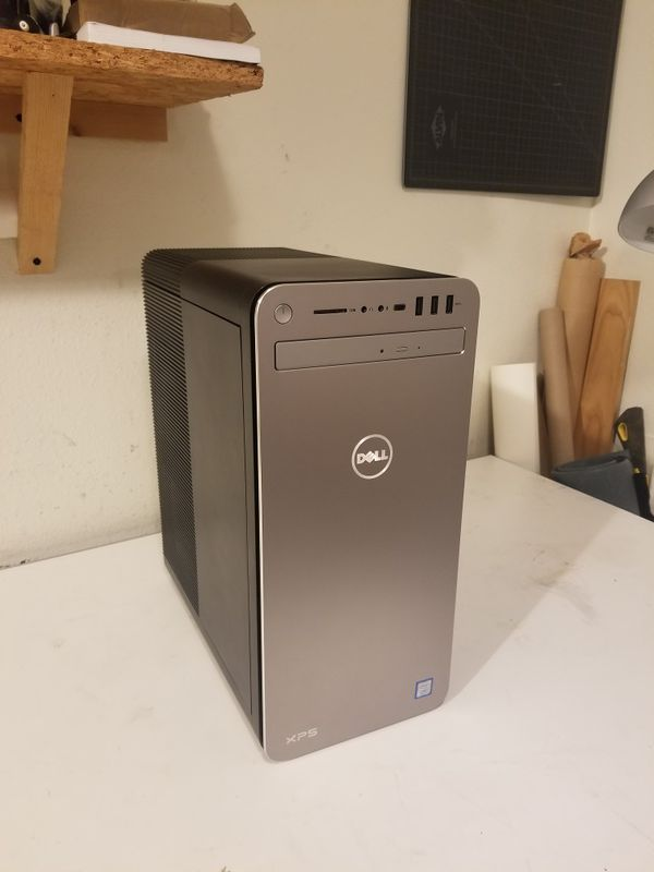 Dell xps 8930 case, gtx 1070, z370 motherboard, 500 watt psu, cd rom and  cpu cooler for Sale in Portland, OR - OfferUp