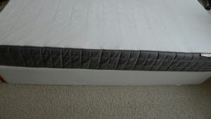 Queen size mattress with base for Sale in Arlington, VA