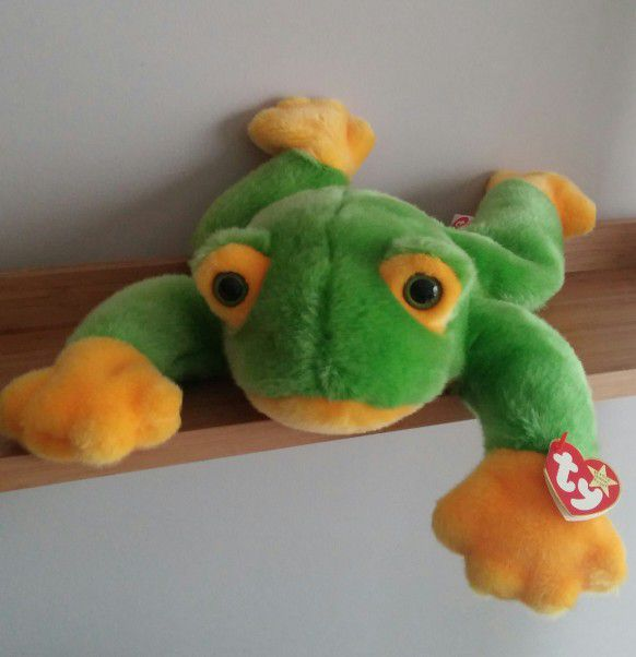 Large Th Beanie Buddy Smoochy The Frog Retired for Sale in ... 1c8e7217d68