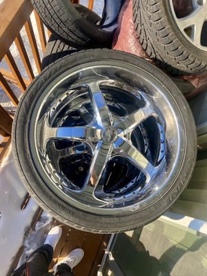 Photo 24 inch rims perfect condition