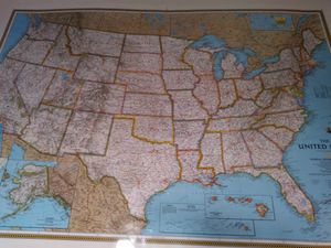 New Large United States map for Sale in Centreville, VA