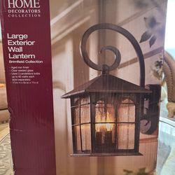 Large Exterior Wall  Lantern  Thumbnail