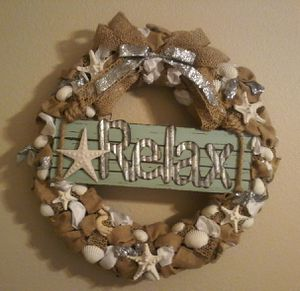 Beach themed wreath for Sale in Las Vegas, NV
