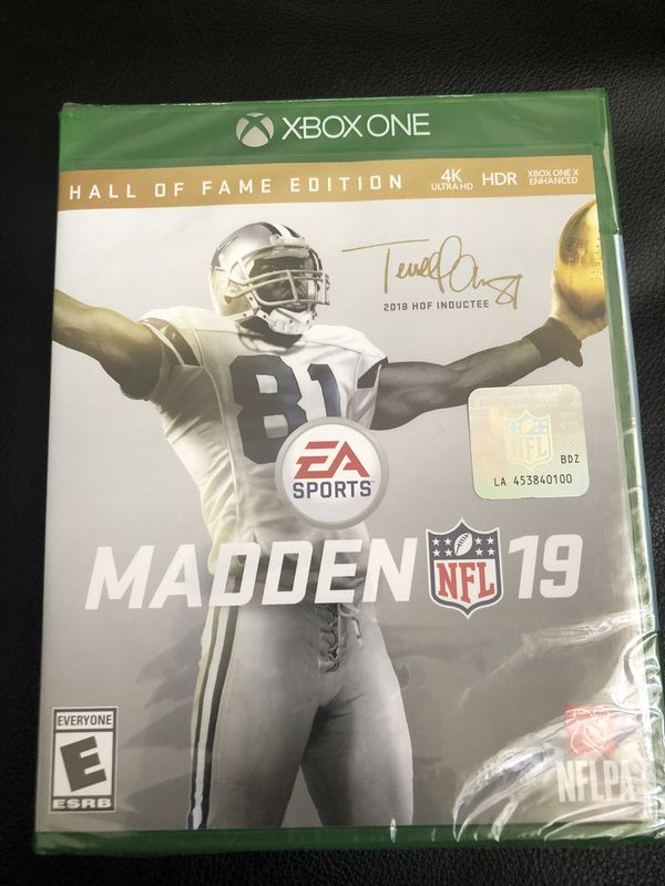 madden hall of fame edition 2019