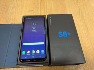 Samsung Galaxy S8 Plus New phone, Factory unlocked, ( work with all G.S.M networks and store warranty) for Sale in Kensington, MD