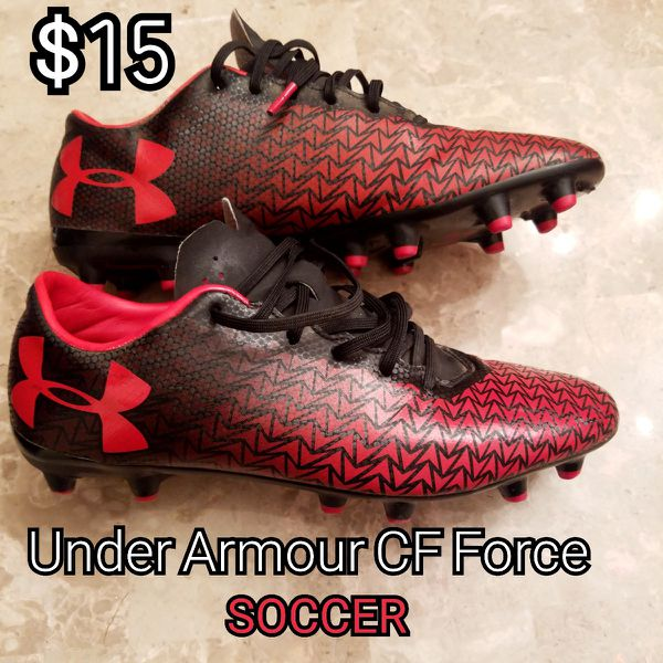 15 Under Armour Soccer cleats size 8 men 7 youth for Sale in ... 51bd45b24