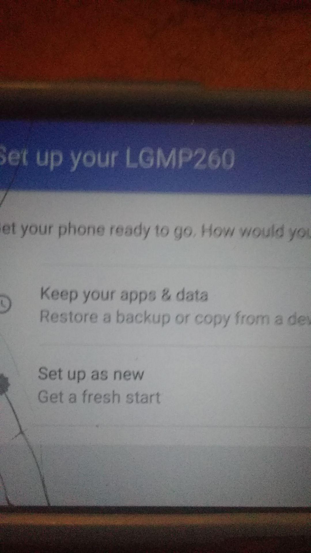 L.G phone