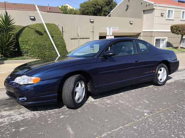 2000 Chevrolet Monte Carlo Ss With 135k Miles Clean Le For In San Francisco Ca Offerup