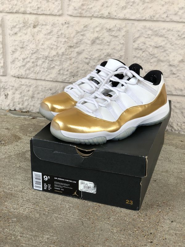 the latest 6194d 16355 Air jordan retro 11 gold medal for Sale in Mansfield, TX - OfferUp
