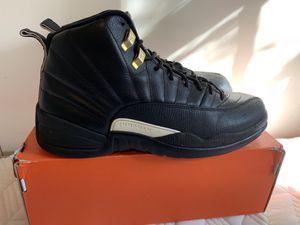 Nike Air Jordan 12 Master Black/White/Gold Size 10.5 Men's for Sale in Arlington, VA