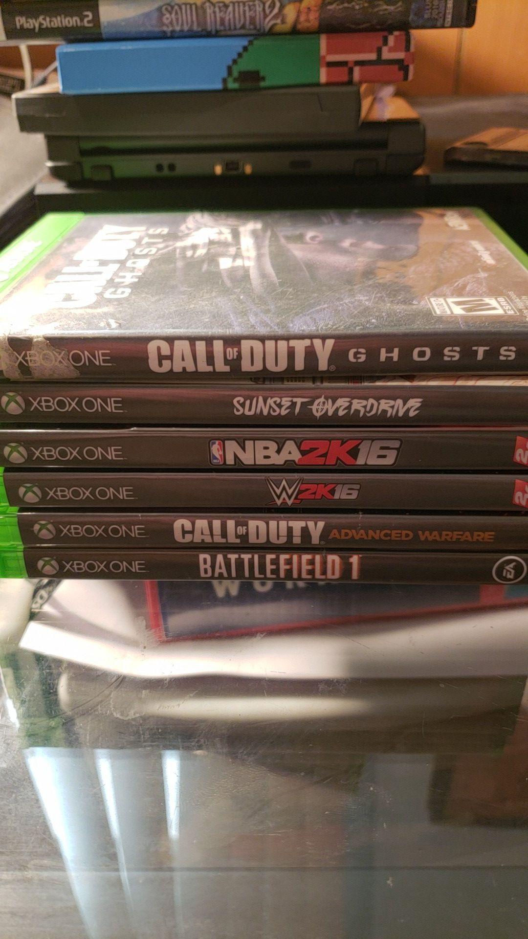 Xbox one lot