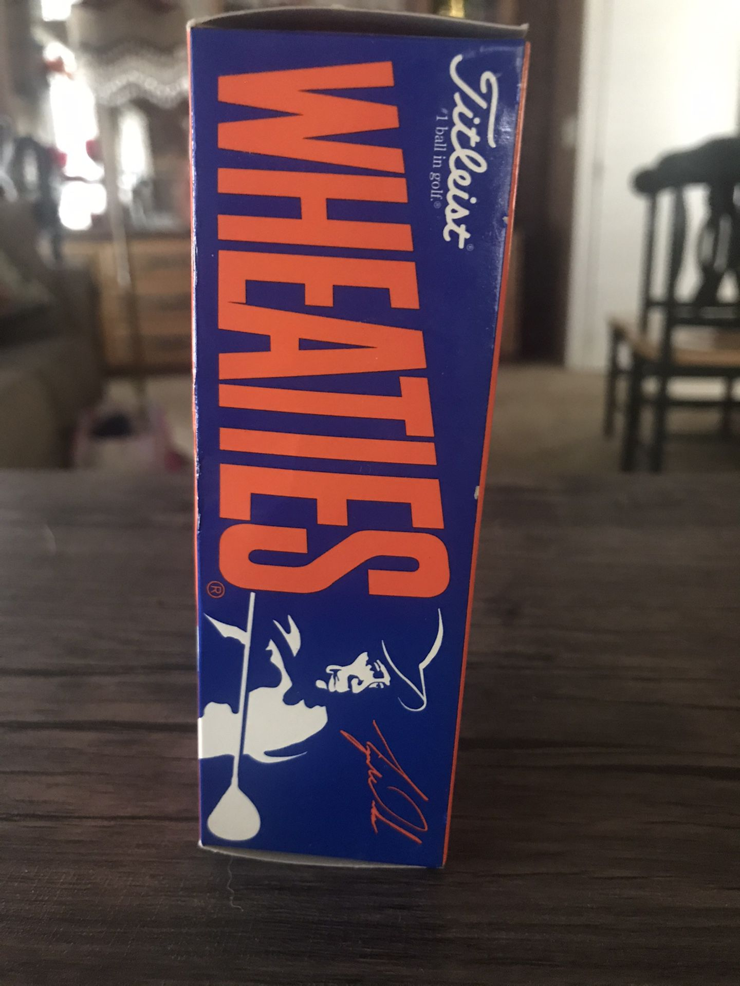 Tiger Woods Wheaties Sponsored Titleist Golf Balls 1998 ...
