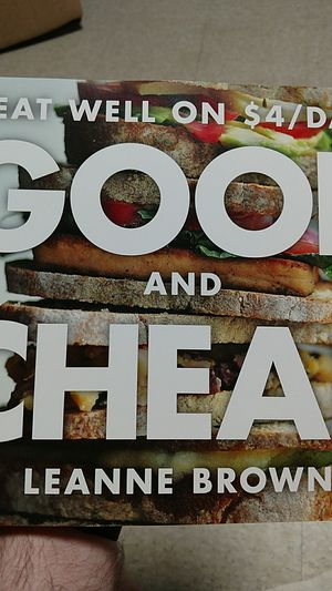 Eat well on $4/day book for Sale in Dillwyn, VA