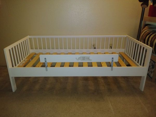 Ikea Sultan Lade White Toddler Bed