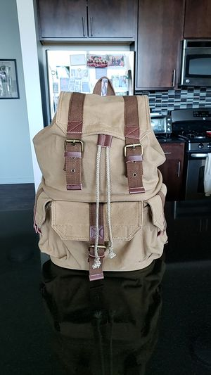 Tan Camera backpack for Sale in Chicago, IL