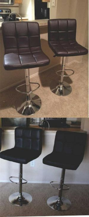 Set of bar stools brand new!!! Chairs sillas cadeiras price for set for Sale in Kissimmee, FL