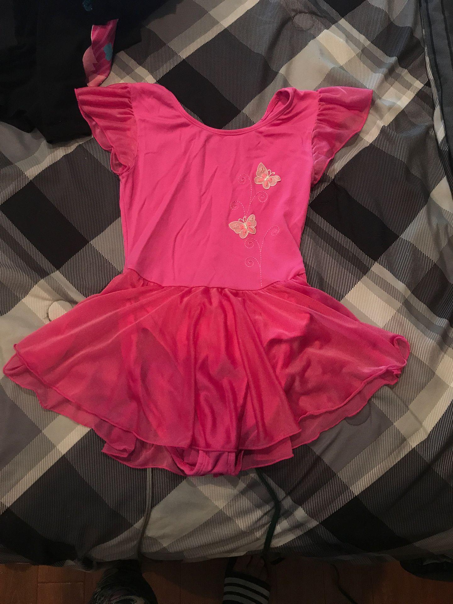 Ballet dress up outfit size 12 kids runs smaller worn once