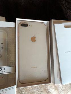 iPhone 8 plus 64gb gold. Verizon Thumbnail