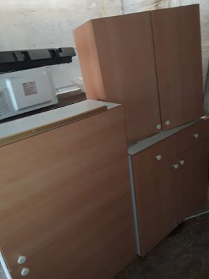 Kitchen cabinets and countertop, sinks, microwave... and more for Sale in Davie, FL