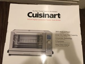 Cuisinart toaster oven broiler for Sale in Washington, DC