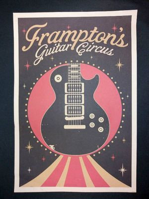 Frampton's Guitar Circus Limited Edition Litho Poster for Sale in Richmond, VA