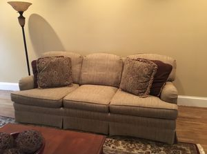 Sherrill sofa. Custom. Fabulous. Exc Cond Custom built in USA. for Sale in Arlington, VA
