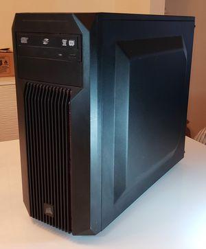 Gaming PC - 3.8 GHz, 16gb ram, 240gb & 120gb ssd, 650w psu, 4gb gpu, 2 monitors, mechanical keyboard, RGB mouse, RGB mouse pad for Sale in Woodbridge, VA