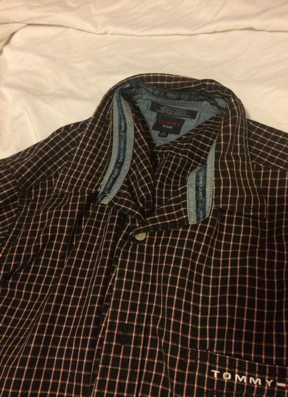 Tommy Hilfiger jeans button shirt