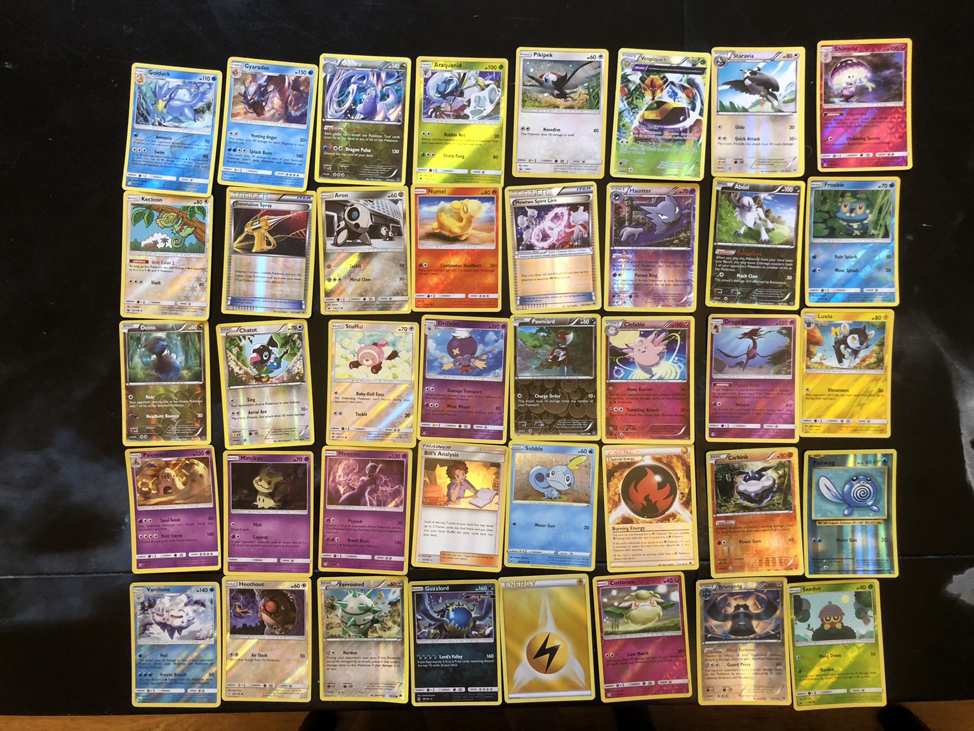 Lot of 240 POKÉMON 2013-2020 Holo Cards
