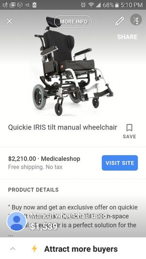 Automatic wheelchair for Sale in Pomona, CA - OfferUp