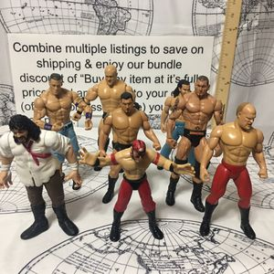 WWE Wrestler Figures for Sale in Concord, NC