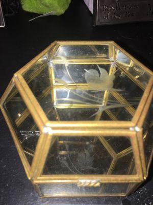 Antique mirror jewelry box for Sale in San Antonio, TX