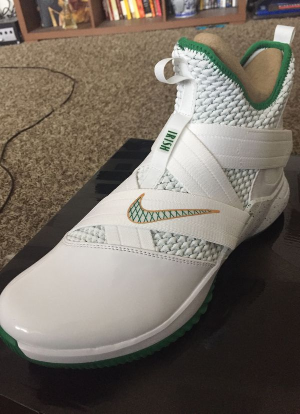 on sale 665ff 88ac6 Lebron Soldier 12 Size 10.5 Irish for Sale in Aurora, CO - OfferUp