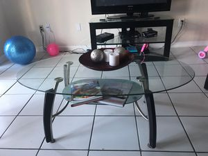 Glass Coffee table set for Sale in Miami, FL