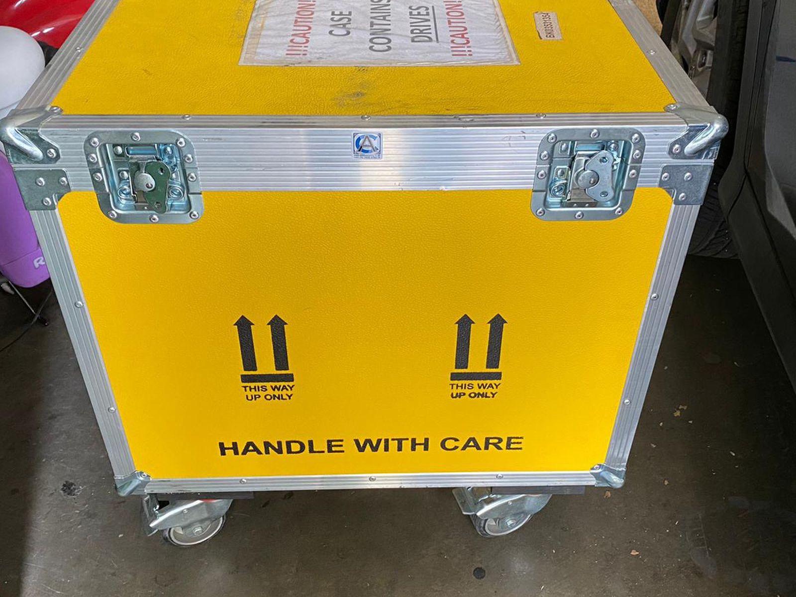 Drive Box/tool Box With Wheels