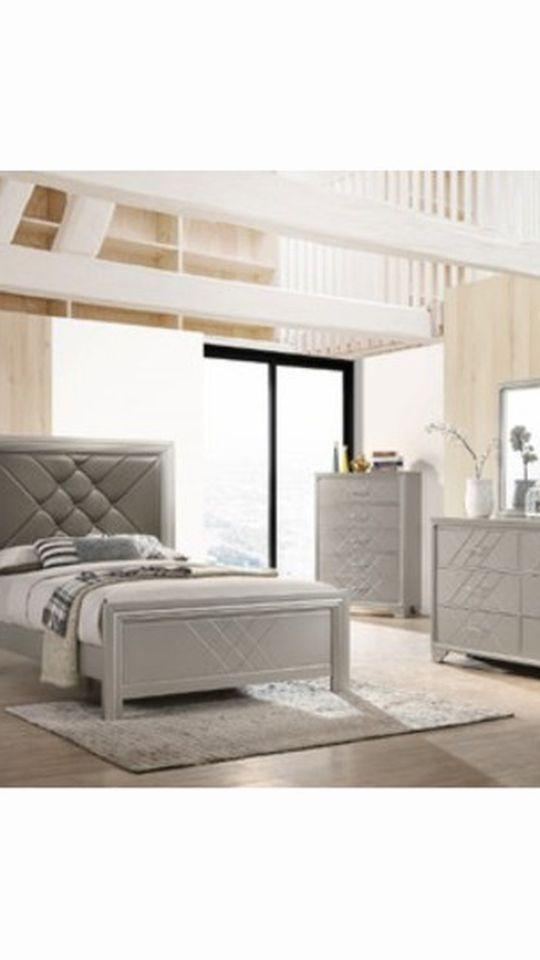 4pcs Queen Bed Set