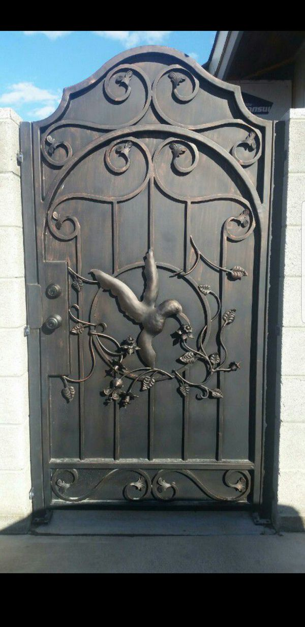 48x72 84 Wrought Iron Gate For Sale In Glendale Az