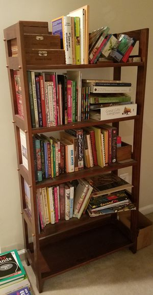 Dark Wooden Bookcase for Sale in Lorton, VA