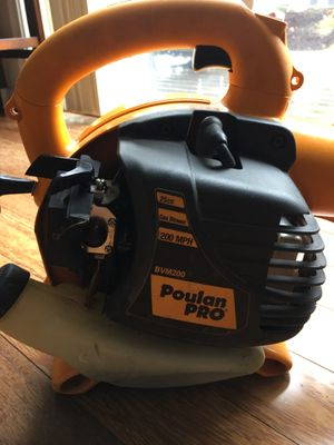 Poulan Pro bvm200vs handheld leaf blower for Sale in Tacoma, WA