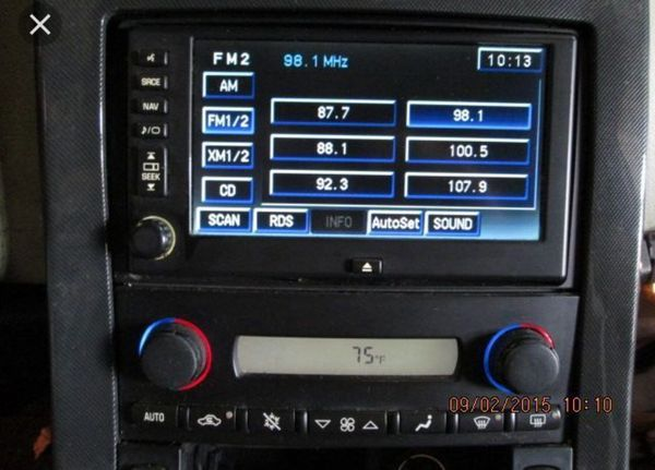 C6 Corvette Navigation Radio 05 13